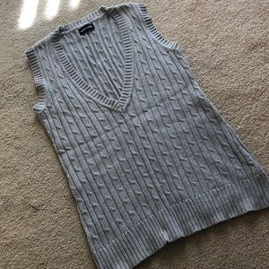 Wet Seal grey sweater vest size M